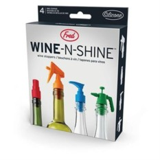 Набор из 4 пробок для бутылки Wine-n-shine