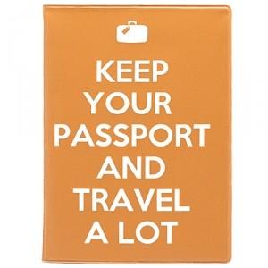 Обложка для паспорта Keep on
