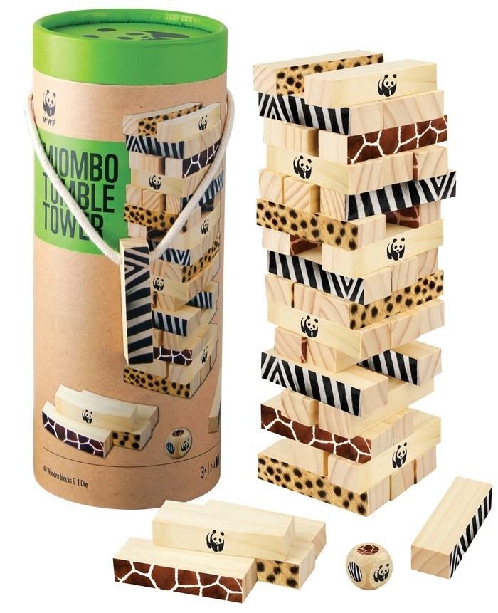 Игра Падающая башня Миомбо