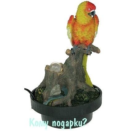 Фонтан декоративный «Попугайчик»