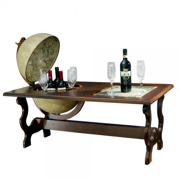 Столик с глобус баром Застолье