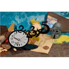 Настольные кварцевые часы Уходящее время