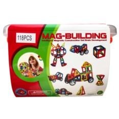 118 деталей магнитного конструктора Mag Building