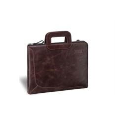 Деловая коричневая сумка Brialdi Fontana