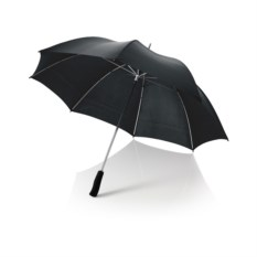 Черный механический зонт-трость Slazenger