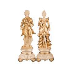 Комплект статуэток на подставках Французская пара