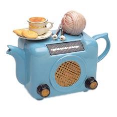 Фарфоровый чайник «Ретро-радио»