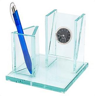 Часы «Прозрачный бизнес»