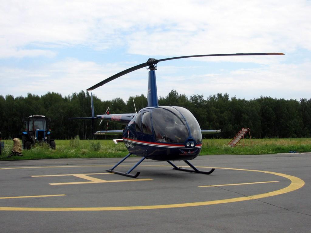 Полет на вертолете Robinson