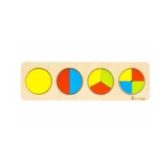 Пазл Дроби: круги