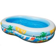 Детский бассейн Райская лагуна Intex