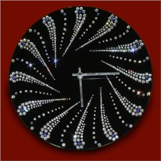 Часы с кристаллами Swarovski Лучик солнца