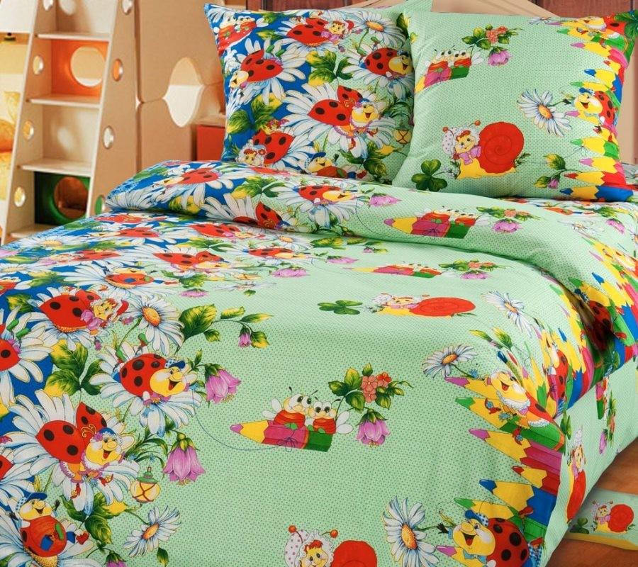 Комплект постельного белья Карандаши (ясельный)