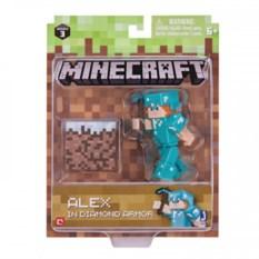Фигурка Minecraft Алекс в алмазной броне