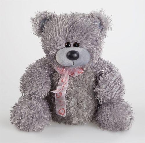 Игрушка Медведь Миша  серый
