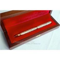 Ручка из золота и никеля