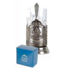 Подстаканник Храм Христа Спасителя в картонной коробке