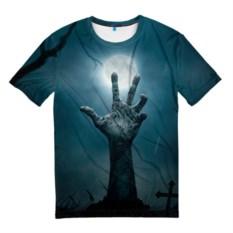 Мужская 3D футболка Рука