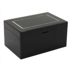Черная шкатулка для украшений