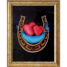 Картина Swarovski Сердца двух