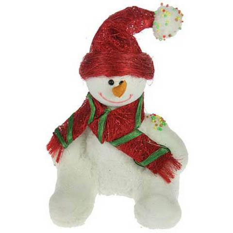 Новогодний сувенир «Снеговичок»