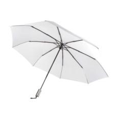 Белый складной зонт-автомат Unit Fiber