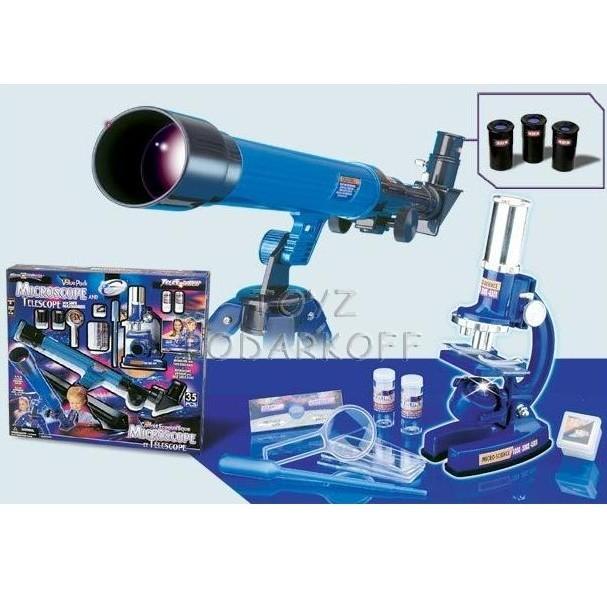 Телескоп и микроскоп (35 предметов)