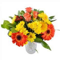Букет цветов Живой