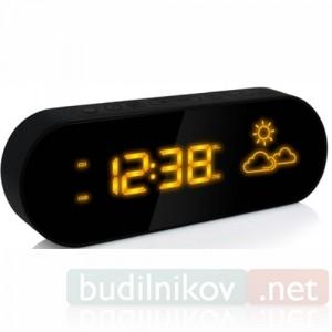 Часы BVItech 42 с анимированным прогнозом погоды