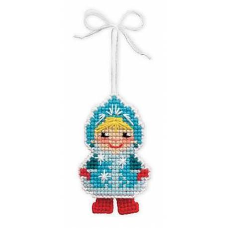 Набор для вышивания Снегурочка