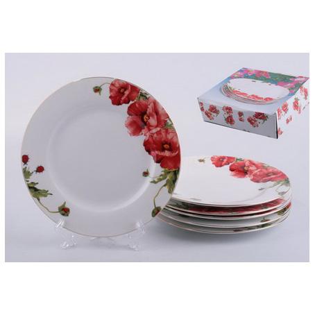 Набор десертных тарелок «Маки»