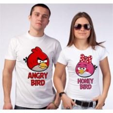 Футболки для двоих Angry bird