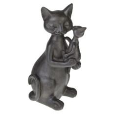 Фигурка Важная киса с котенком