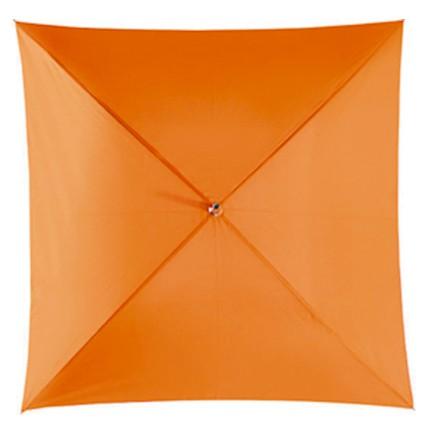 Механический зонт-трость Quatro, оранжевый