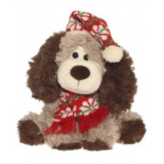 Мягконабивная игрушка Собака в колпаке