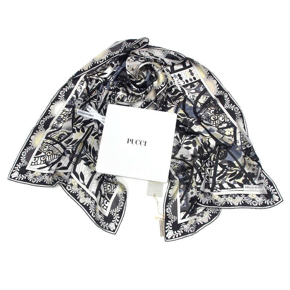Модный шелковый палантин для женщин Emilio Pucci