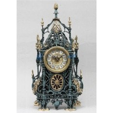 Каминные часы из бронзы Маурицио
