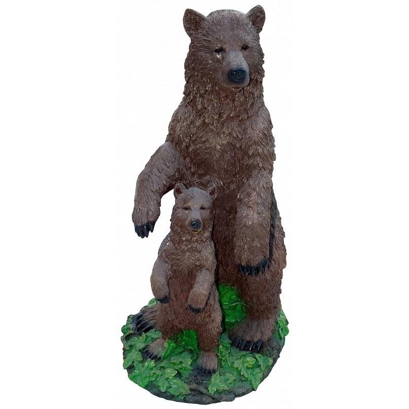 Садовая фигура Медвежья семья