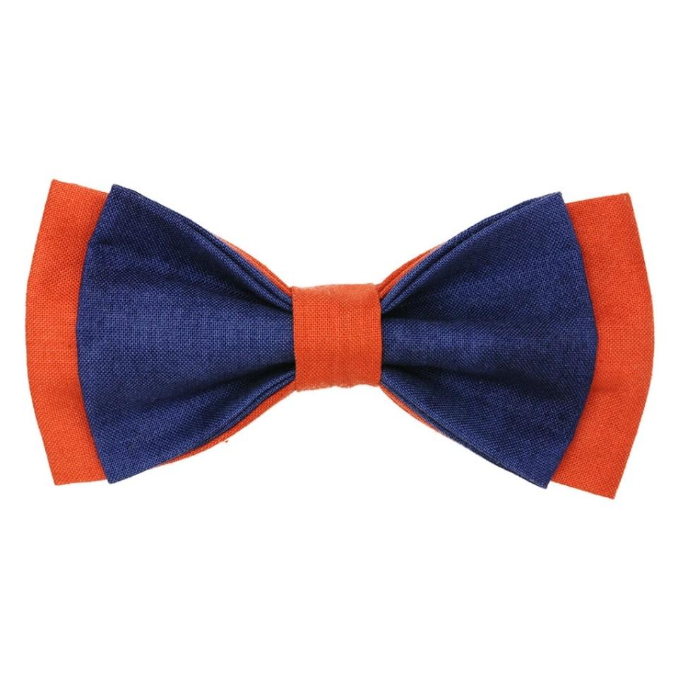 Галстук-бабочка #267 (синяя)