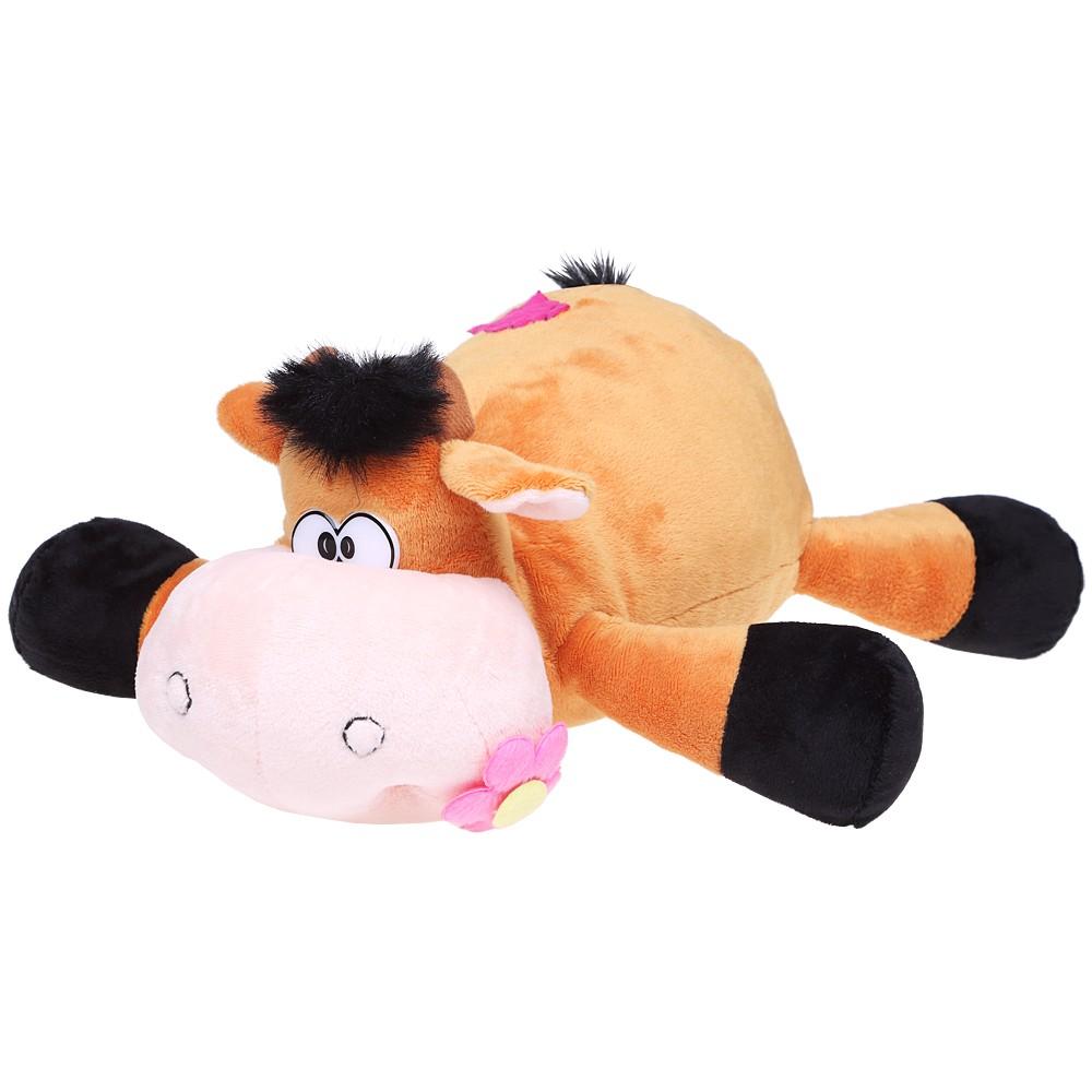 Говорящая игрушка «Корова с цветком»