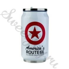 Термокружка Route 66 – White
