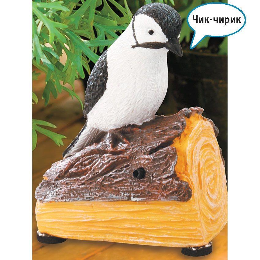 Птица со звуком