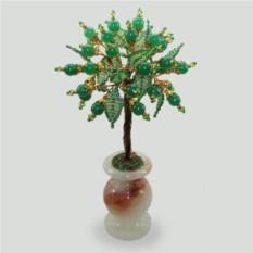 Дерево из нефрита Лето