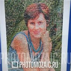 Фотомозаика в подарок жене на день рождения