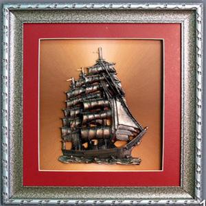 Панно настенное «Корабль»
