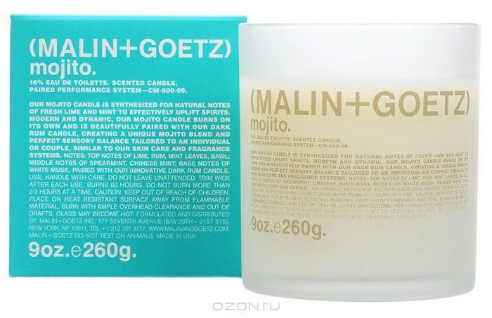 Malin+Goetz Ароматизированная свеча Мохито, 260 г