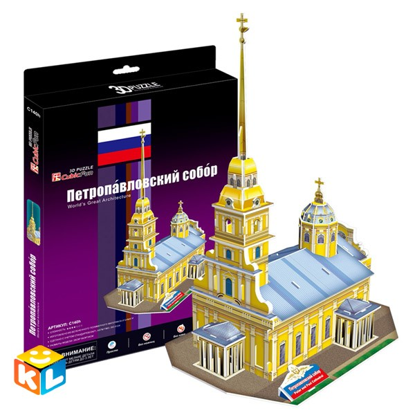 3D Пазл  Петропавловский собор
