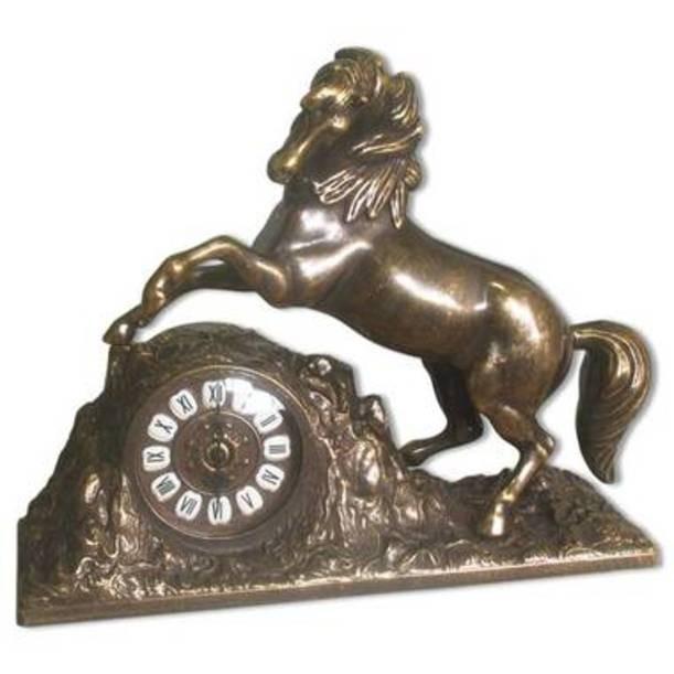 Каминные часы Бронзовая лошадь
