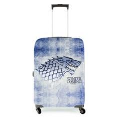 Чехол на чемодан Зима скоро