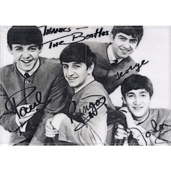 Обложка для паспорта Beatles